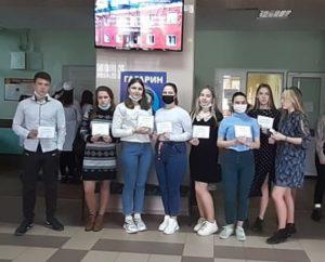 Наши студентки — призёры областной Олимпиады по биологии!